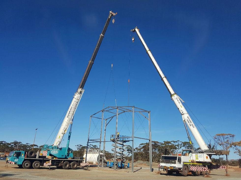 Crane Hire Company Wheatbelt - Mobile Cranes & Rigging